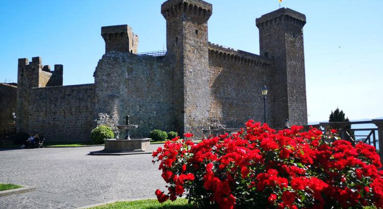 bolsena visita castello monaldeschi