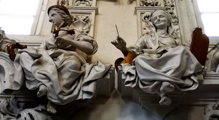 palermo oratorio santa cita stucchi giacomo serpotta