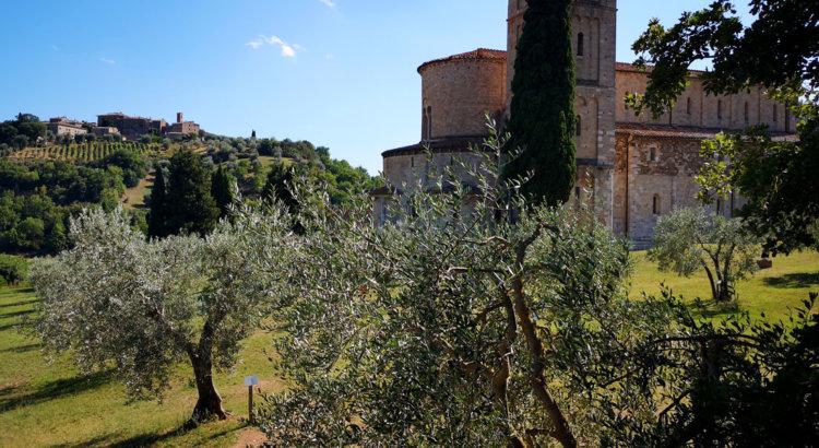 abbazia di sant'antimo montalcino siena toscana