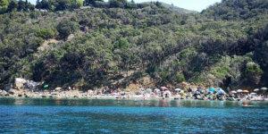 spiaggia cala grande monte argentario