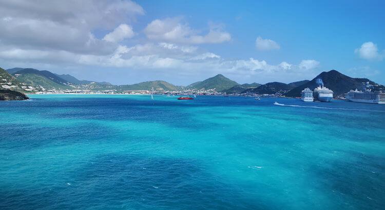 isola st martin caraibi in crociera